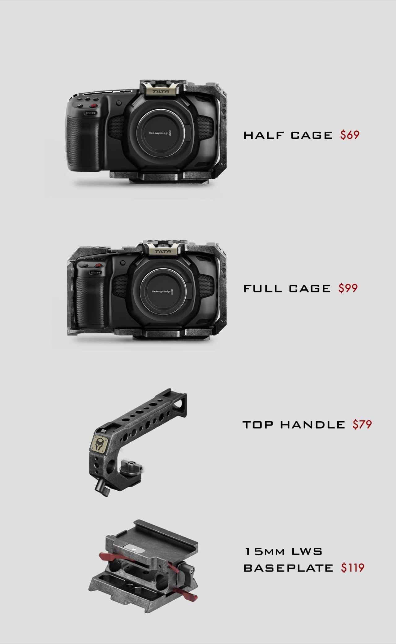 "Tilta For Blackmagic Pocket Cinema Camera 4k Wedunk À¸šà¸£ À¸© À¸— À¸"" À¸‡ À¸ˆà¸³à¸ À¸"""