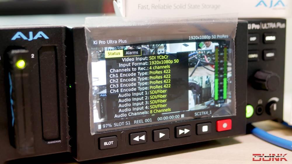 AJA Ki Pro Ultra Plus : 4K/60P หรือจะ 1080P - 4 Input and 4 Record