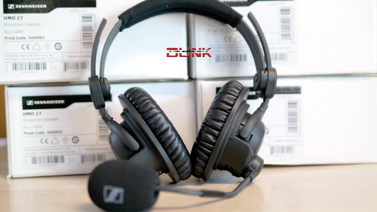 c6a679509e6 Sennheiser HMD 27 Professional Broadcast Headset ( No Cable ...