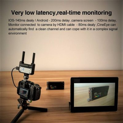 Accsoon CineEye HDMI – Transmit FullHD via Wifi to up to 4 Devices